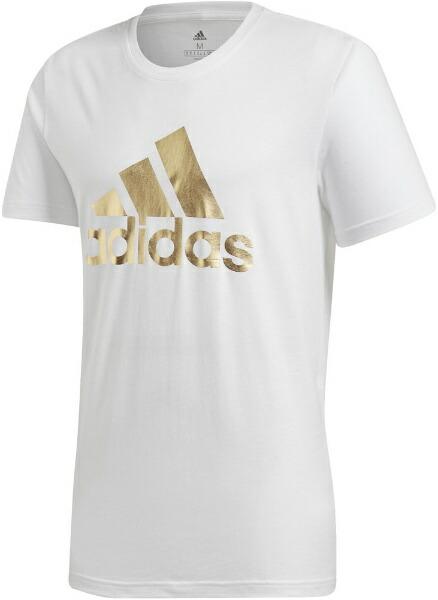 アディダスadidasメンズ8ビットグラフィックフォイルTシャツ(Lサイズ/ホワイト)GLZ15FN1736