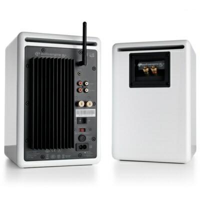 AudioengineオーディオエンジンブルートゥーススピーカーA5+BTWハイグロス・ホワイトペイント[Bluetooth対応]