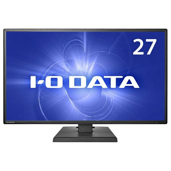I-ODATAアイ・オー・データUSB-C接続PCモニターブラックLCD-CF271EDB[27型/ワイド/フルHD(1920×1080)]