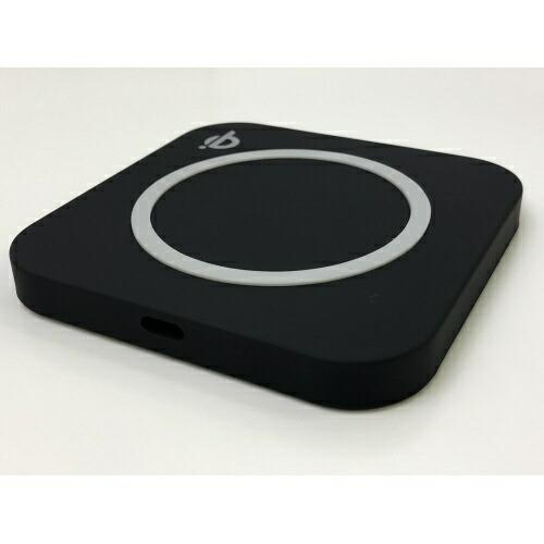 ウイルコムWILLCOMワイヤレス充電器Type-Cケーブル一体型ACアダプタ付属ブラックWC003BK