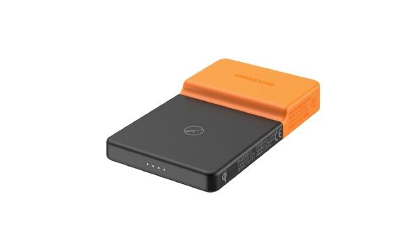 BricksPowerBricksPower完全ワイヤレスモバイルバッテリーオレンジBPOWER-OR