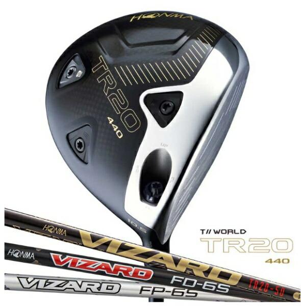 本間ゴルフHONMAGOLFドライバーT//WORLDTR20-44010.5°VIZARDTR20-50シャフト》S
