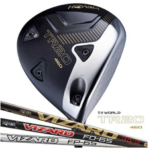 本間ゴルフHONMAGOLFドライバーT//WORLDTR20-4609.5°《VIZARDFP6シフト》S