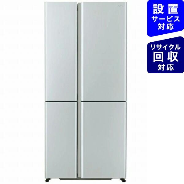 AQUAアクアAQR-TZ51J-S冷蔵庫サテンシルバー[4ドア/左右開きタイプ/512L][冷蔵庫大型両開き]《基本設置料金セット》