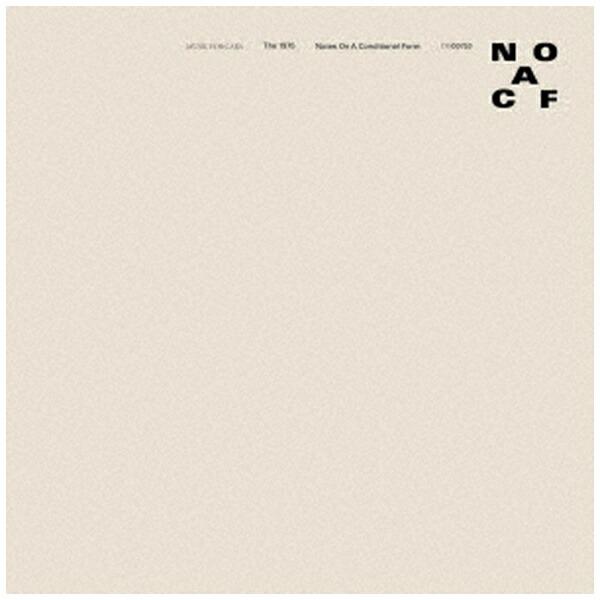 ユニバーサルミュージックThe1975/仮定形に関する注釈【CD】