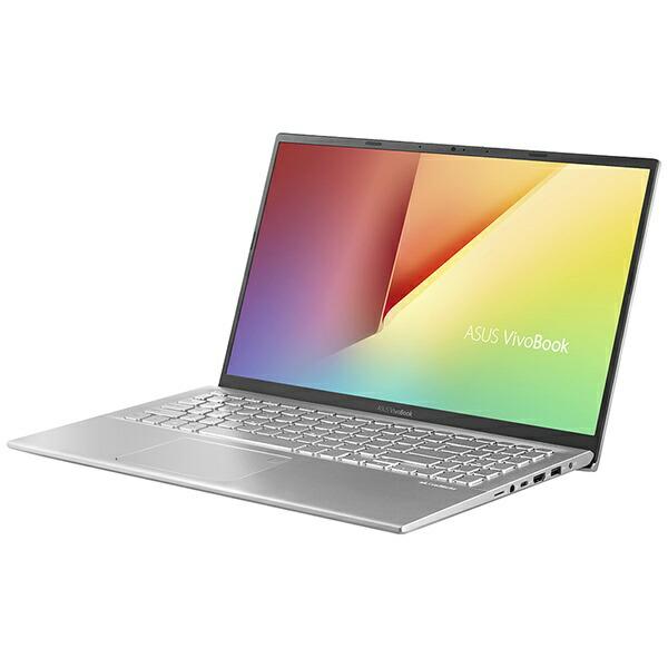 ASUSエイスースX512DA-BQ1136TノートパソコンVivoBook15X512DAトランスペアレントシルバー[15.6型/AMDRyzen7/SSD:512GB/メモリ:8GB/2020年4月モデル][15.6インチoffice付き新品windows10]