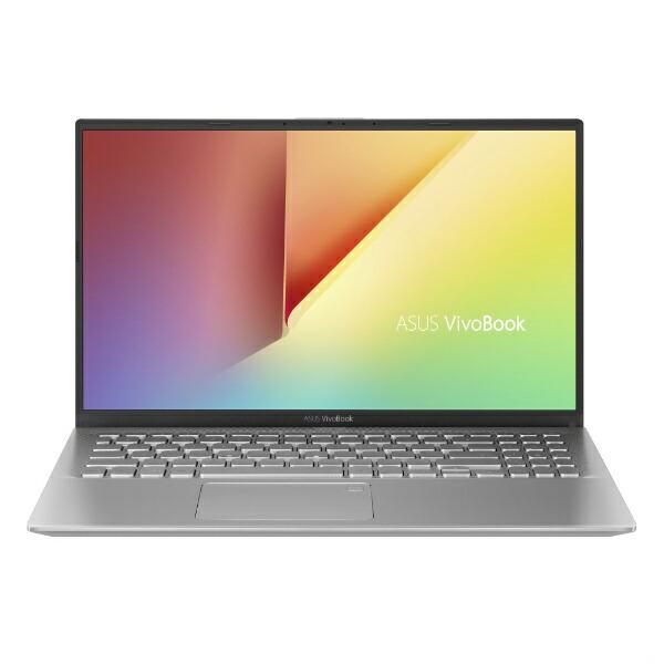 ASUSエイスースX512DA-BQ1136TSノートパソコンVivoBook15X512DAトランスペアレントシルバー[15.6型/AMDRyzen7/SSD:512GB/メモリ:8GB/2020年4月モデル][15.6インチoffice付き新品windows10]
