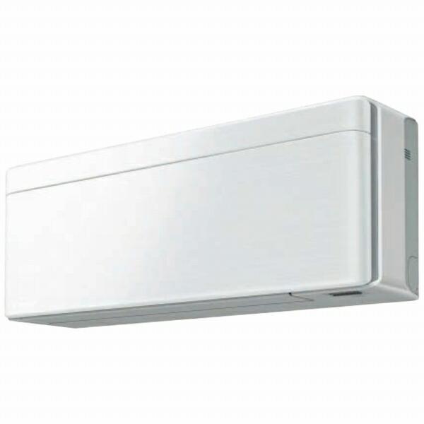 ダイキンDAIKINAN40XSP-Fエアコン2020年risora(リソラ)Sシリーズファブリックホワイト[おもに14畳用/200V][省エネ家電]