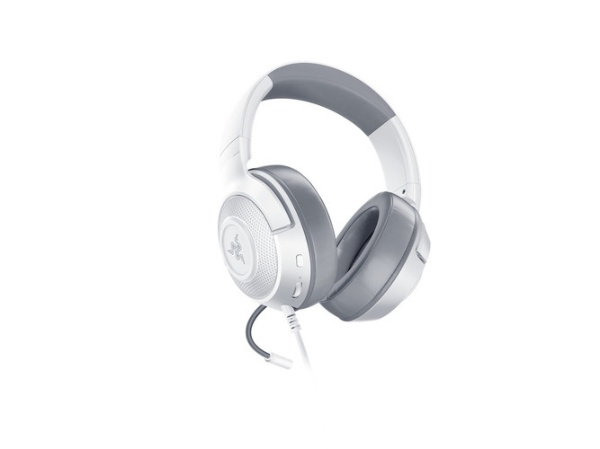 RAZERレイザーRZ04-02890300-R3M1ゲーミングヘッドセットKrakenXMercuryホワイト[φ3.5mmミニプラグ/両耳/ヘッドバンドタイプ]