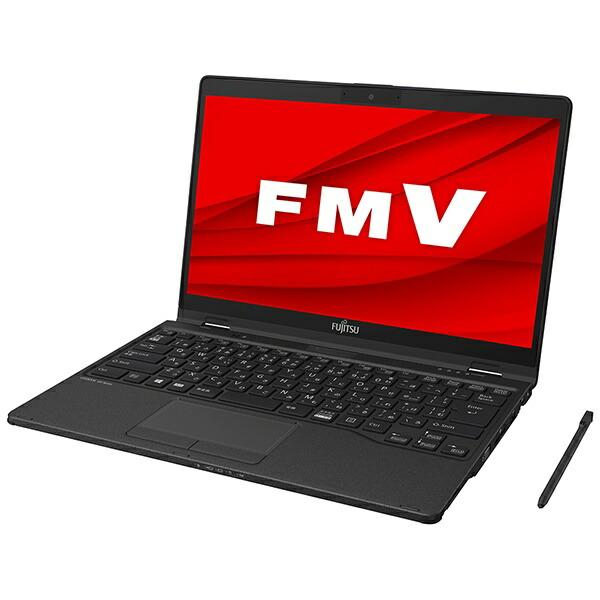 富士通FUJITSUFMVU78D2BBノートパソコンFMVLIFEBOOKUH78/D2(コンバーチブル型)ピクトブラック[13.3型/intelCorei5/SSD:256GB/メモリ:8GB/2020年春モデル][13.3インチoffice付き新品windows10]