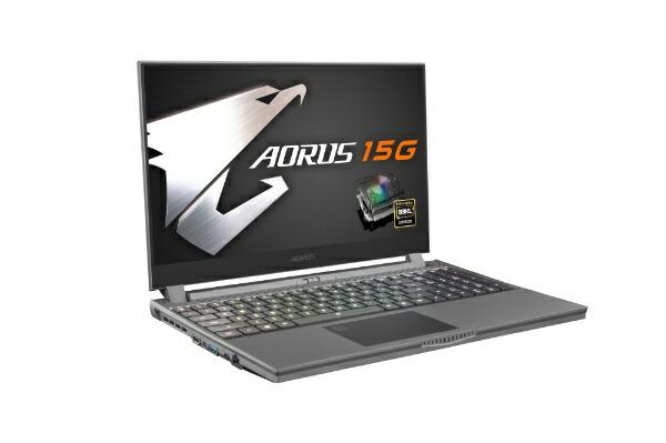 GIGABYTEギガバイトゲーミングノートパソコンAORUS15GXB-8JP2130MP[15.6型/intelCorei7/SSD:512GB/メモリ:16GB/2020年4月モデル]【rb_winupg】