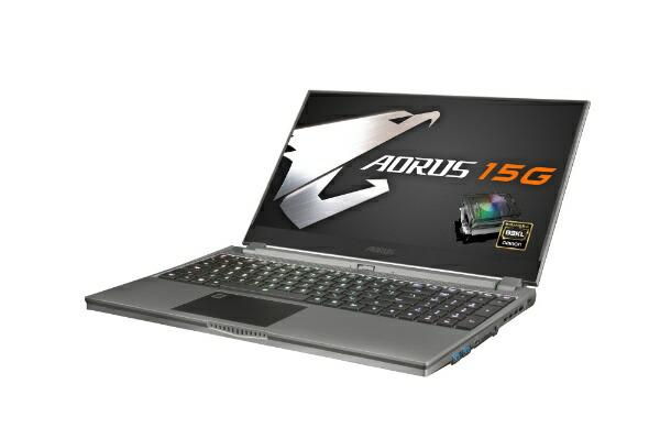 GIGABYTEギガバイトゲーミングノートパソコンAORUS15GYB-8JP2130MP[15.6型/intelCorei7/SSD:512GB/メモリ:16GB/2020年4月モデル]