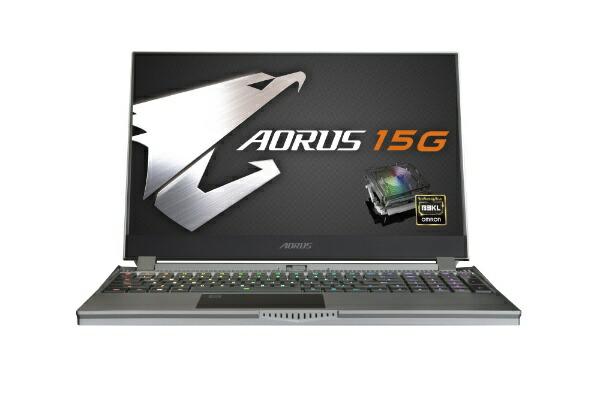GIGABYTEギガバイトSB-7JP1130MHゲーミングノートパソコンAORUS15G[15.6型/intelCorei7/SSD:512GB/メモリ:16GB/2020年5月モデル]