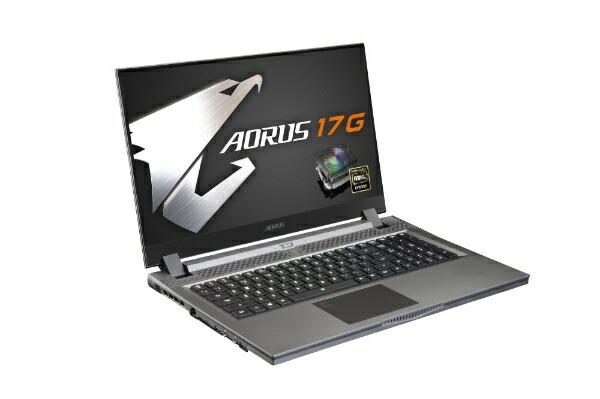 GIGABYTEギガバイトXB-8JP2130MPゲーミングノートパソコンAORUS17G[17.3型/intelCorei7/SSD:512GB/メモリ:16GB/2020年5月モデル]