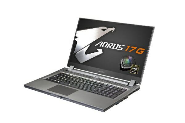 GIGABYTEギガバイトSB-7JP1130MHゲーミングノートパソコンAORUS17G[17.3型/intelCorei7/SSD:512GB/メモリ:16GB/2020年5月モデル]