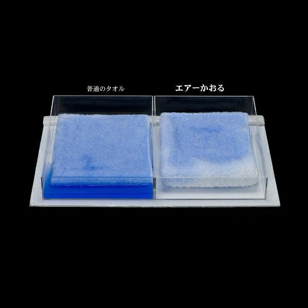 浅野撚糸ASANONENSHI【今治製】エアーかおるダディボーイフェイスタオル(約34×85cm/スノーホワイト)