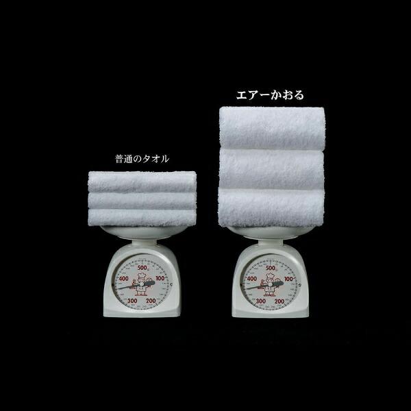 浅野撚糸ASANONENSHI【今治製】エアーかおるXTCエニータイム(約34×120cm/アクア)
