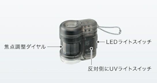 レイメイ藤井ハンディ顕微鏡petitブルーRXT150A