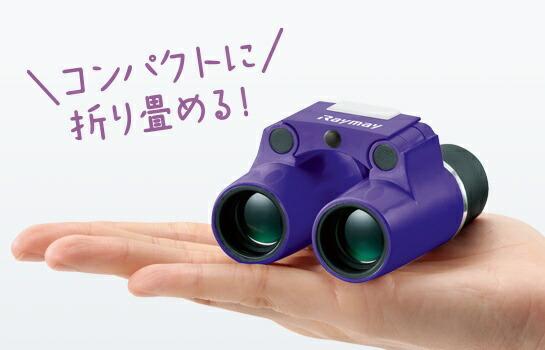 レイメイ藤井フリーフォーカス双眼鏡6倍パープルRXB374V