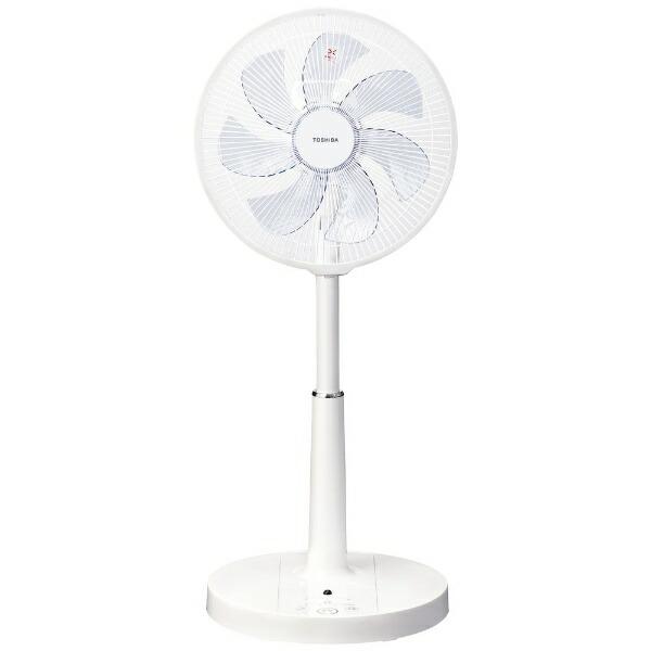 東芝TOSHIBAリビングAC扇風機ホワイトF-ALY50-W[リモコン付き]