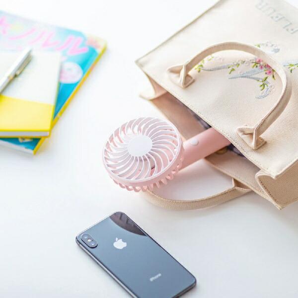 サンワサプライSANWASUPPLY手持ち式USB扇風機ストラップ付きピンクUSB-TOY99P