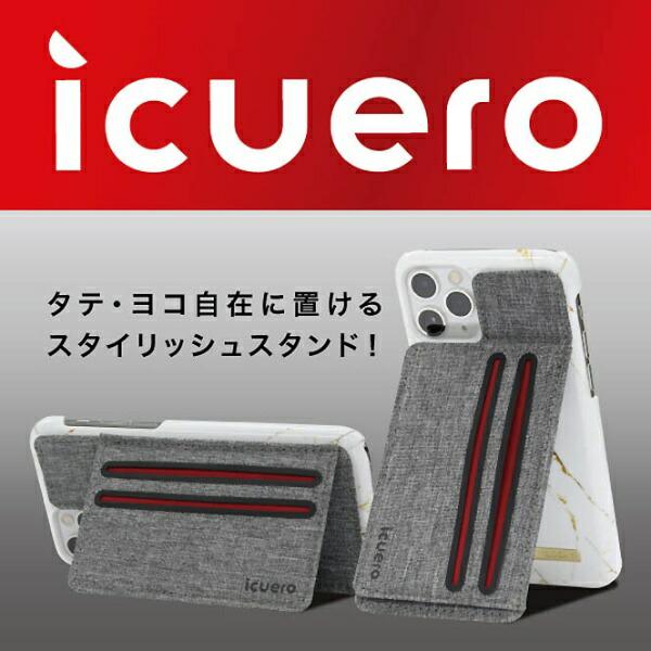 イツワ商事ITSUWASHOJIIPHONE11PROMAX/11/11PROICUEROWALLETGRAYICUERO-WS-IP11GY