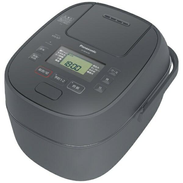 パナソニックPanasonicSR-MPB100-H炊飯器グレー[5.5合/圧力IH]