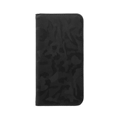 OWLTECHオウルテックiPhoneSE(第2世代)4.7インチ/8/7/6s対応手帳型ケース迷彩柄OWL-CVIC4714-BKブラック