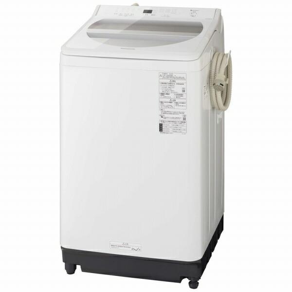 パナソニックPanasonic全自動洗濯機FAシリーズホワイトNA-FA100H8-W[洗濯10.0kg/乾燥機能無/上開き][洗濯機10kg]