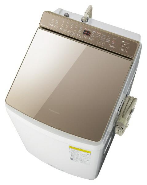 パナソニックPanasonic縦型洗濯乾燥機ブラウンNA-FW90K8-T[洗濯9.0kg/乾燥4.5kg/ヒーター乾燥(水冷・除湿タイプ)/上開き]