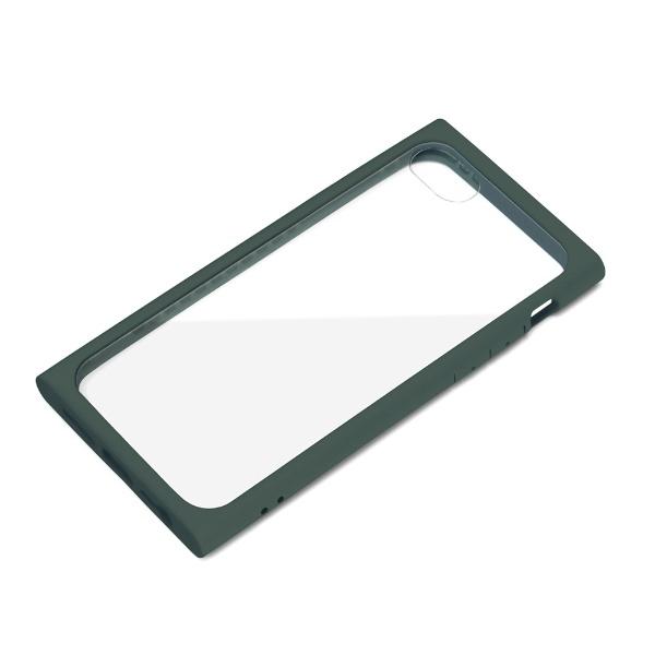 PGAiPhoneSE(第2世代)ガラスタフケースモスグリーンPG-20MGT05GR
