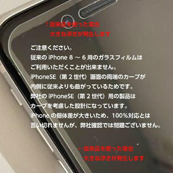 DEFFディーフiPhoneSE(第2世代)8/7/6s/6ガラスフィルムHighGradeGlassScreenProtectorforiPhoneSE(第2世代)目に優しい★実機装着確認済み強力吸着タイプDG-IP9B3FDG-IP9B3F