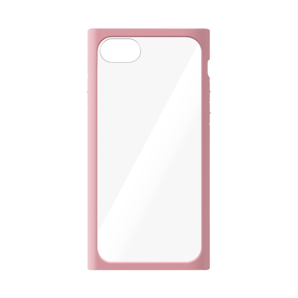 PGAiPhoneSE(第2世代)ガラスタフケースピンクPG-20MGT08PK