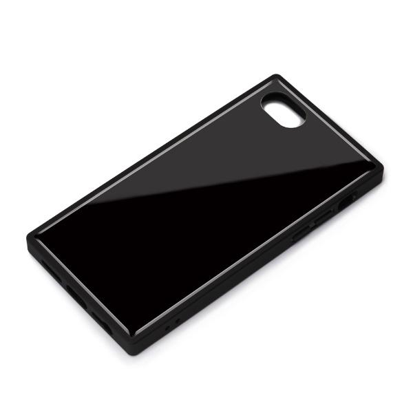 PGAiPhoneSE(第2世代)ガラスハイブリッドケースブラックPG-20MGT09BK