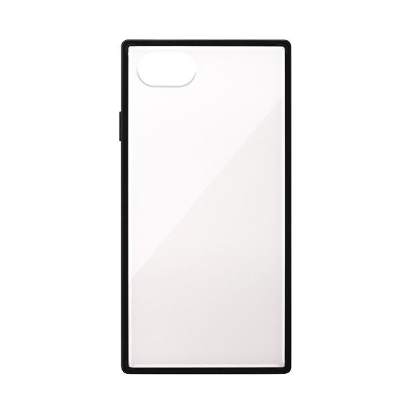 PGAiPhoneSE(第2世代)ガラスハイブリッドケースホワイトPG-20MGT10WH