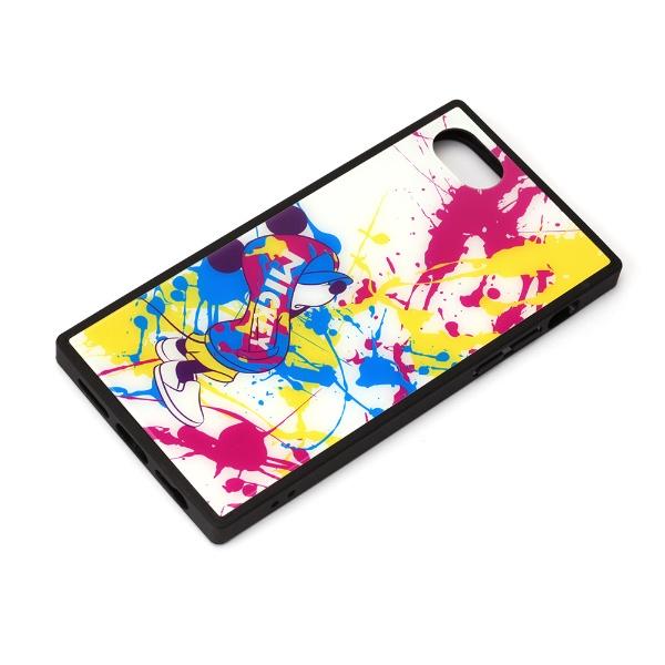 PGAiPhoneSE(第2世代)ガラスハイブリッドケースミッキーマウス/スプラッシュPG-DGT20M02MKY
