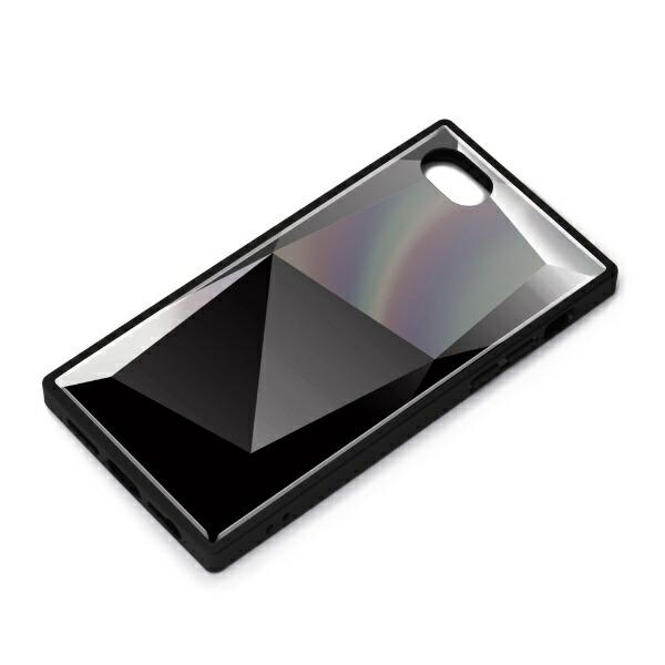 PGAiPhoneSE(第2世代)ガラスハイブリッドケースダイヤブラックPG-20MGT11BK