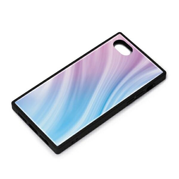 PGAiPhoneSE(第2世代)ガラスハイブリッドケースパープルPG-20MGT13PP