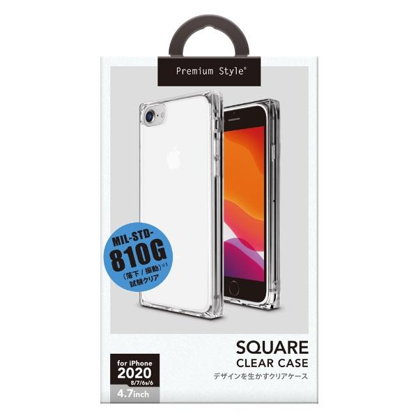 PGAiPhoneSE(第2世代)オールTPUケースクリアPG-20MTP01CL