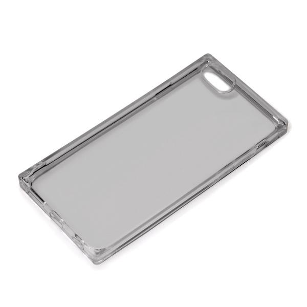 PGAiPhoneSE(第2世代)オールTPUケースクリアブラックPG-20MTP02BK