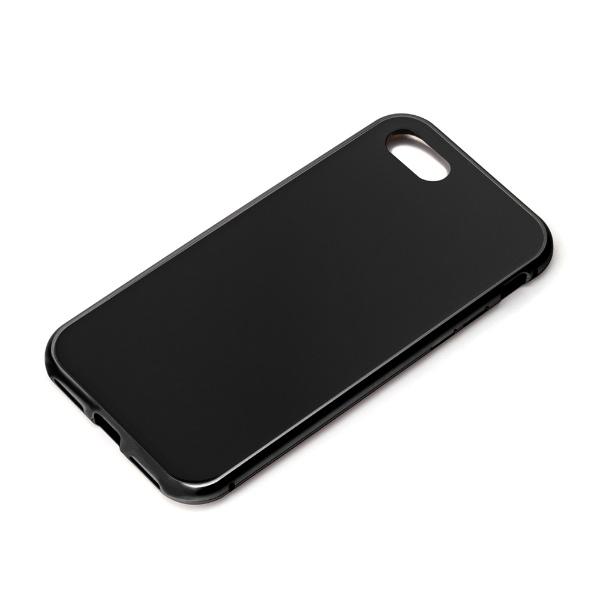 PGAiPhoneSE(第2世代)360度フルカバーケースブラックPG-20MFC01BK