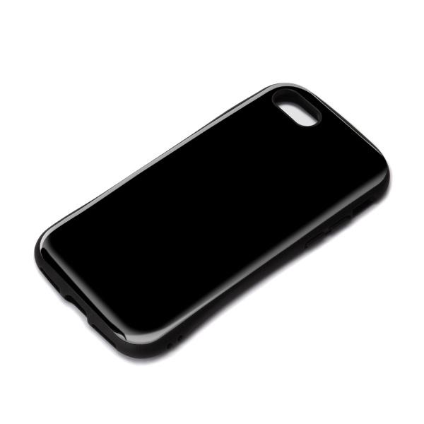 PGAiPhoneSE(第2世代)ハイブリッドタフケースブラックPG-20MPT01BK