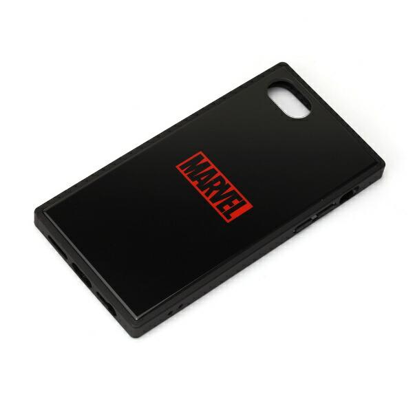 PGAiPhoneSE(第2世代)ガラスハイブリッドケースロゴ/ブラックPG-DGT20M10BK