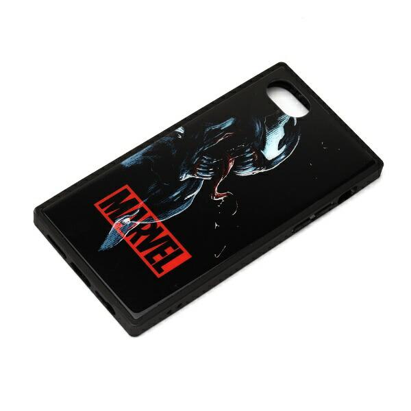 PGAiPhoneSE(第2世代)ガラスハイブリッドケースヴェノムPG-DGT20M13VEN