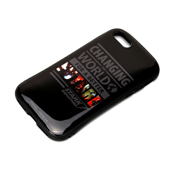 PGAiPhoneSE(第2世代)ハイブリッドタフケースアイアンマンPG-DPT20M13IRM