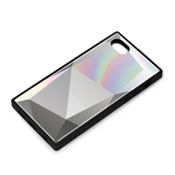 PGAiPhoneSE(第2世代)ガラスハイブリッドケースダイヤホワイトPG-20MGT12WH