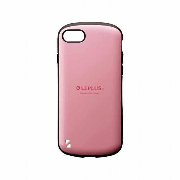 MSソリューションズiPhoneSE(第2世代)4.7インチ耐衝撃ハイブリッドケース「PALLET」LP-I9PLPKピンク