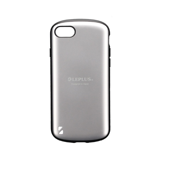 MSソリューションズiPhoneSE(第2世代)4.7インチ耐衝撃ハイブリッドケース「PALLET」LP-I9PLMSVシルバー