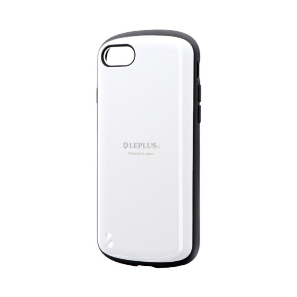 MSソリューションズiPhoneSE(第2世代)4.7インチ耐衝撃ハイブリッドケース「PALLET」LP-I9PLWHホワイト