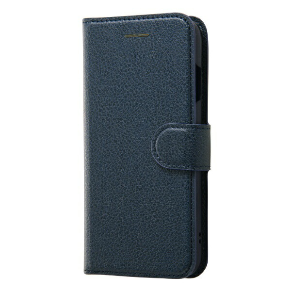 レイアウトrayoutiPhoneSE(第2世代)4.7インチ/8/7手帳シンプルマグネットRT-P24ELC1/DNネイビー
